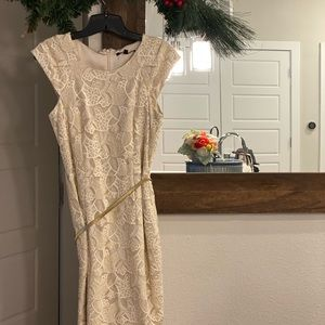 Gold Mini Dress.